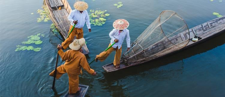 lacul inle myanmar